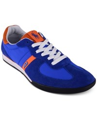 Polo Ralph Lauren Men's Jacory Newport Sneakers Men's Shoes Sapphire Star