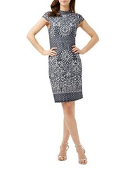 Phase Eight Fran Lace Dress Blue