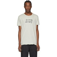 Ksubi Grey Change We Need T Shirt