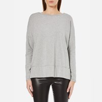 Boss Orange Women's Tersweat Sweatshirt Medium Grey