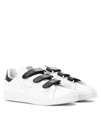 Raf Simons Stan Smith Leather Sneakers White