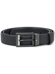 Montblanc Logo Buckle Belt Black