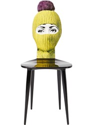 Fornasetti Lux Gstaad Chair Yellow And Orange