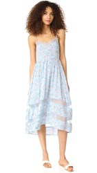 Re Named Layla High Low Dress Blue