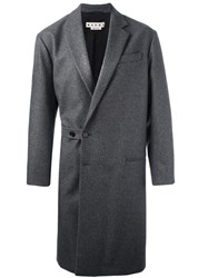 Marni Mid Length Coat Grey