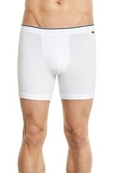 Nordstrom Men's Stretch Boxer Briefs White