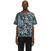 Givenchy Black And Multicolor Hawaii Shirt