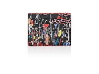 Christian Louboutin Men's Kios Card Case Blue No Color