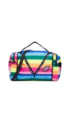 Le Sport Sac Lesportsac Collette Large Convertible Duffel Bag Rainbow Stripe