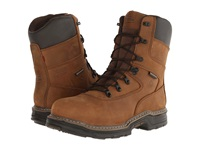Wolverine Marauder Multishox Waterproof 8 Steel Toe Boot Brown Men's Work Boots
