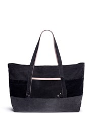 Album Cotton Denim Tote Bag Black