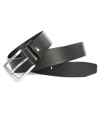 Tommy Hilfiger Black 3.5 Denton Leather Belt
