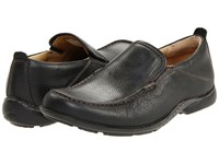 Hush Puppies Gt Black Leather Men's Slip On Shoes