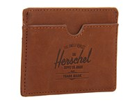 Herschel Charlie Leather Brown Nubuck Wallet Handbags