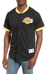 Mitchell And Ness Men's Nba Seasoned Pro Los Angeles Lakers Mesh Shirt