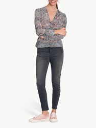 Hush Lucia Twist Front Top Grey