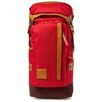 Master Piece Potential Leather Trim Backpack Red
