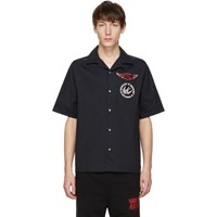 Mcq By Alexander Mcqueen Black Racing Billy 03 Shirt