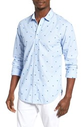 Scotch And Soda Men's Embroidered Woven Shirt