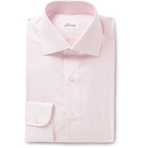 Brioni Pink Cotton Shirt
