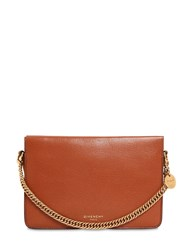 Givenchy Cross 3 Leather And Suede Shoulder Bag Tan
