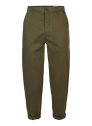 Selected Khaki Homme Relaxed Chino Trousers