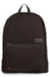 State Bags Park Slope Lorimer Water Resistant Canvas Backpack Black