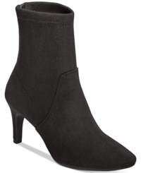 Aerosoles Excess Mid Shaft Boots Women's Shoes Black Fabric