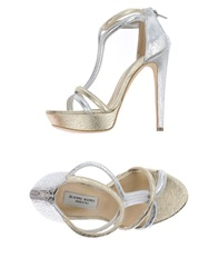 Gianni Marra Sandals Platinum