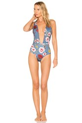 Beach Riot X Revolve Lex One Piece Blue