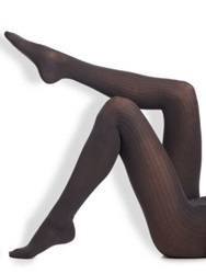 Wolford Ribbed Tights Black