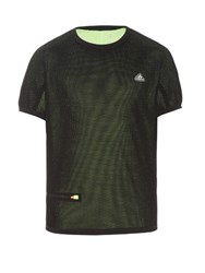Adidas By Kolor Climachill Mesh Performance T Shirt Black Multi