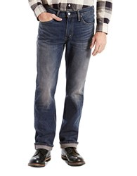 Levi's 514 Straight Fit Jeans Blue Roast
