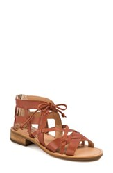 Latigo Ramoni Strappy Gladiator Sandal Brick Leather