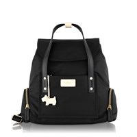 Radley Romilly Street Medium Foldover Backpack Bag Black