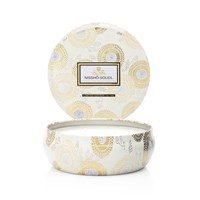 Voluspa Japonica Limited Edition 3 Wick Candle In Tin Nissho Soleil