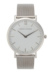 Larsson And Jennings Chain Metal Stainless Steel Watch Silver