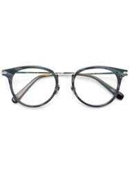 Brioni Round Frame Glasses Grey