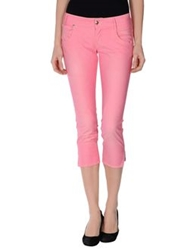Heavy Project Denim Capris Light Purple