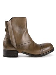 Alexandre Plokhov Worker Boots Brown