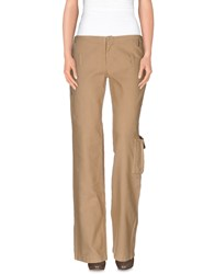Gianfranco Ferre Gf Ferre' Trousers Casual Trousers Women Khaki