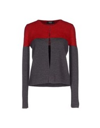 Vdp Collection Cardigans Brick Red