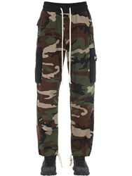 Daniel Patrick M93 Cotton Cargo Pants Multicolor