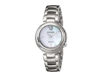 Citizen Em0330 55D Sunrise Silver Tone Stainless Steel Dress Watches Bronze