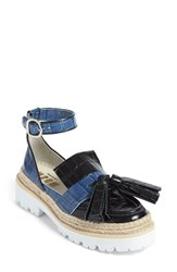 Women's Msgm Rope Detail Tassel Loafer