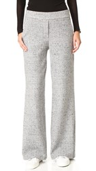 Theory Talbert Speckled Trousers Light Grey Multi