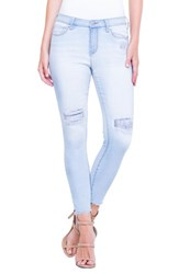 Liverpool Jeans Company Alec Crop Jeans Sun Peak Mended