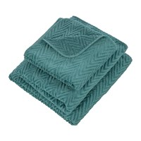 Abyss And Habidecor Montana Egyptian Cotton Towel 325 Turquoise