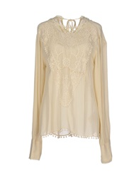 High Blouses Beige