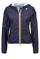 K Way Kway Windbreaker Blue